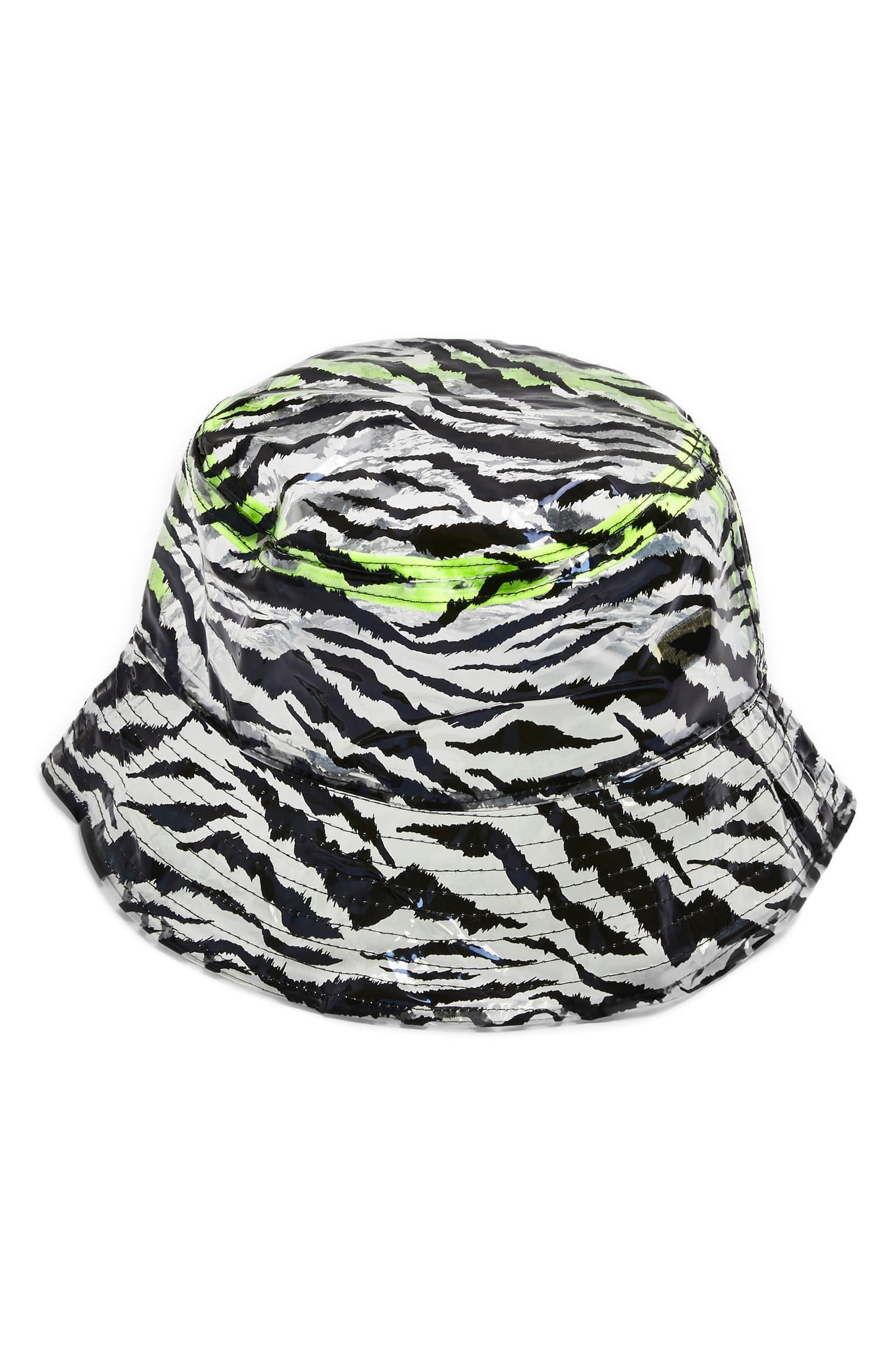 Topshop Zebra Bucket Hat | Nordstrom