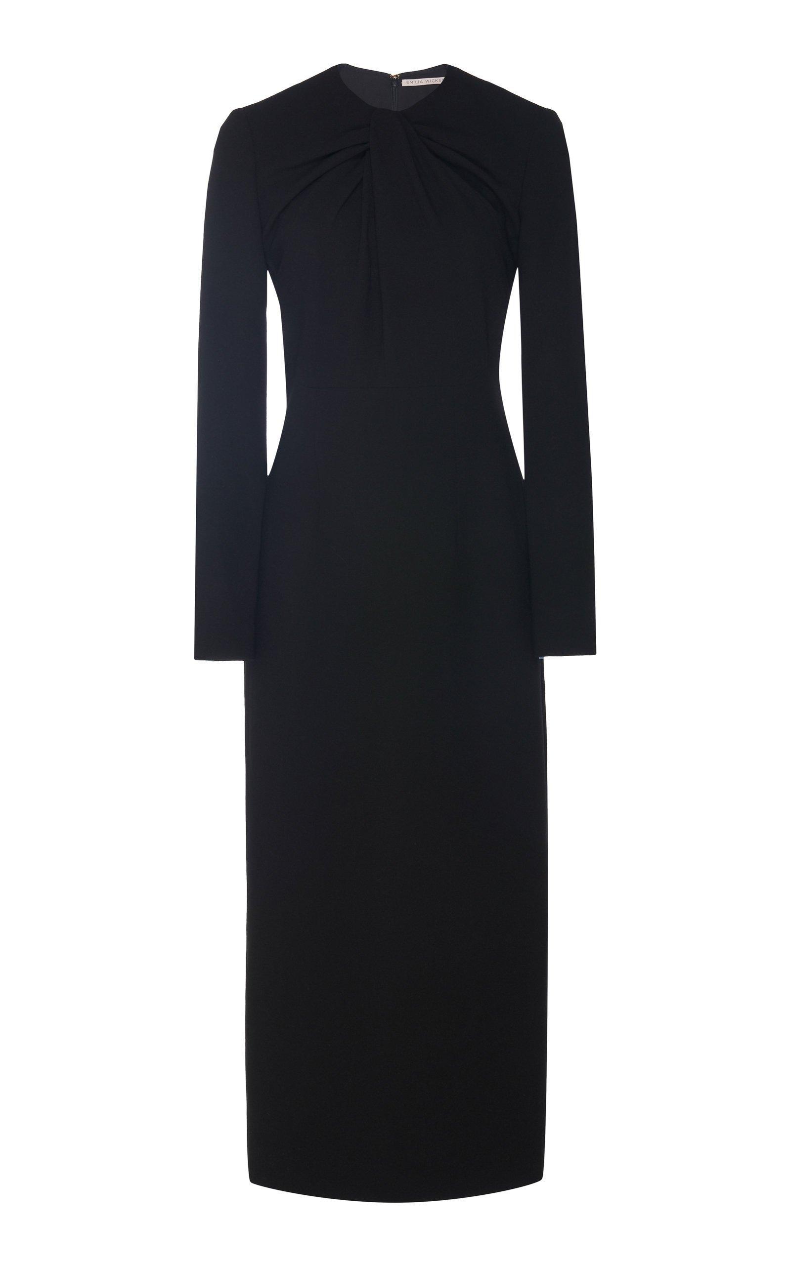 Emilia Wickstead Remy Stretch-Crepe Midi Dress