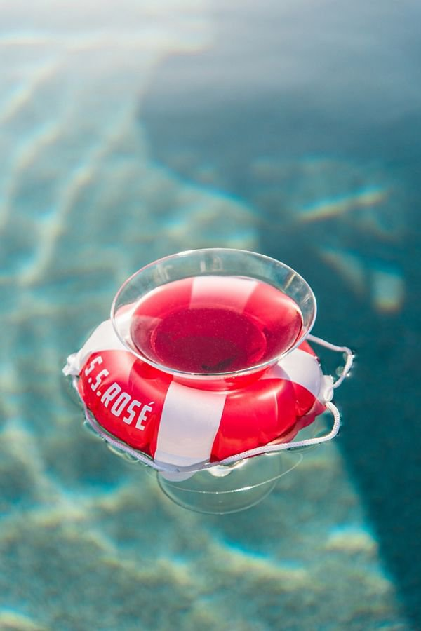 Wine Holder Pool Float Set   Urban Outfitters