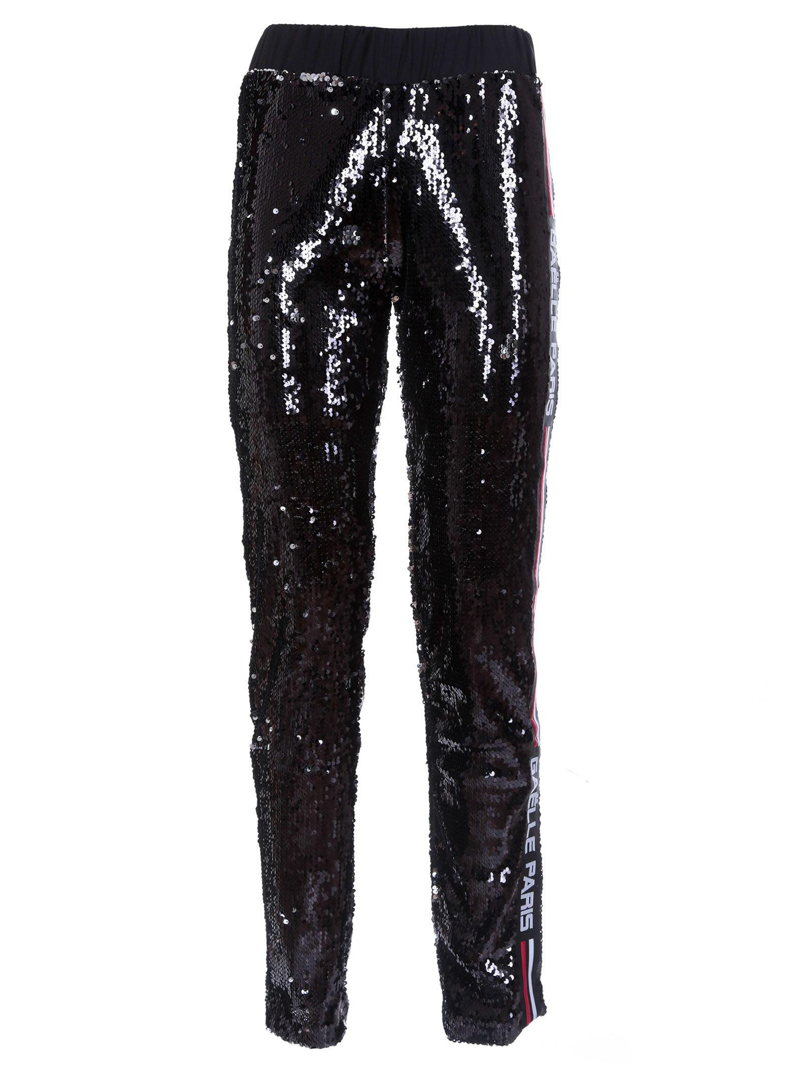 Gaelle Bonheur Sequinned Track Pants