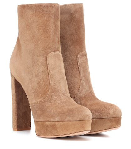 Brook suede ankle boots