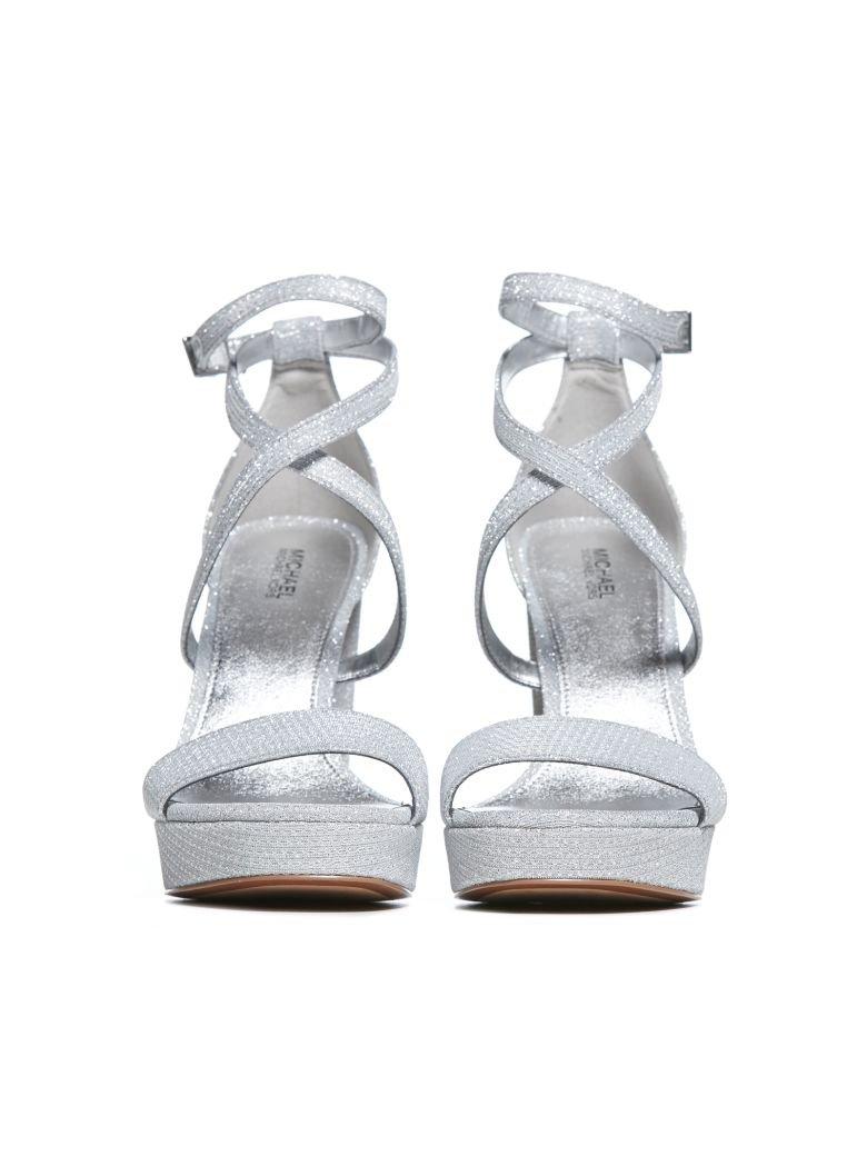 MICHAEL Michael Kors MICHAEL Michael Kors Sandals - Silver - 10969307 | italist