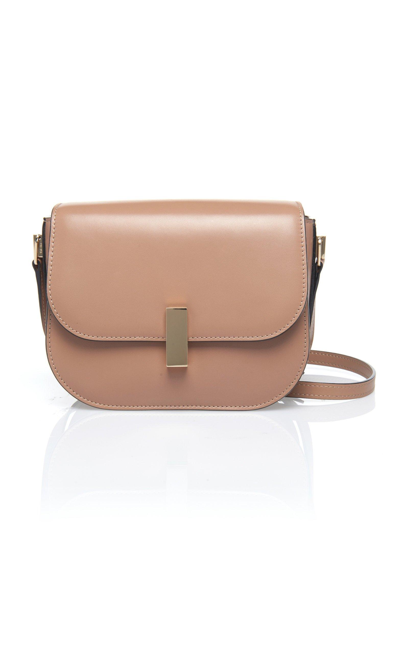 Valentino- Iside Leather Crossbody Bag