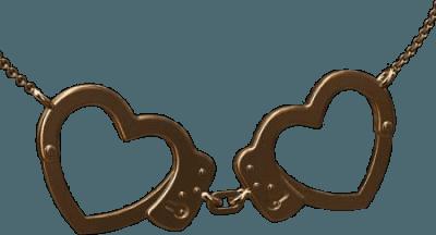 heart handcuffs