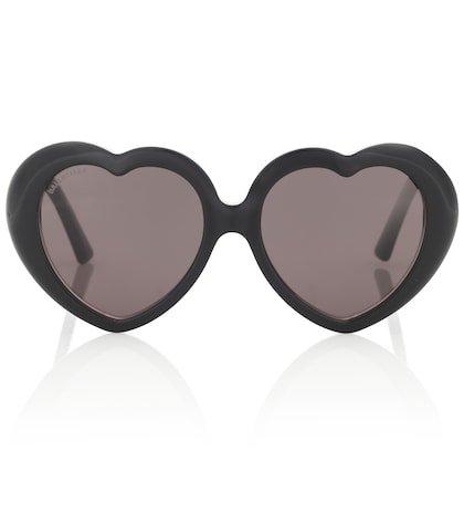 Susi heart-shaped sunglasses