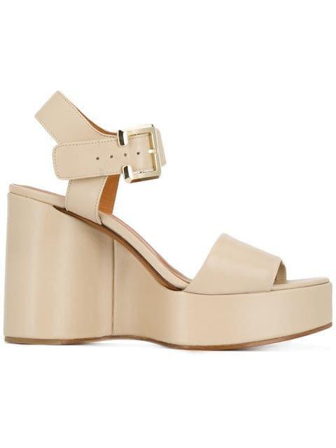 Clergerie Altesse wedge sandals