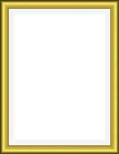 Gold Clipart Frame Rectangle - Pinterest