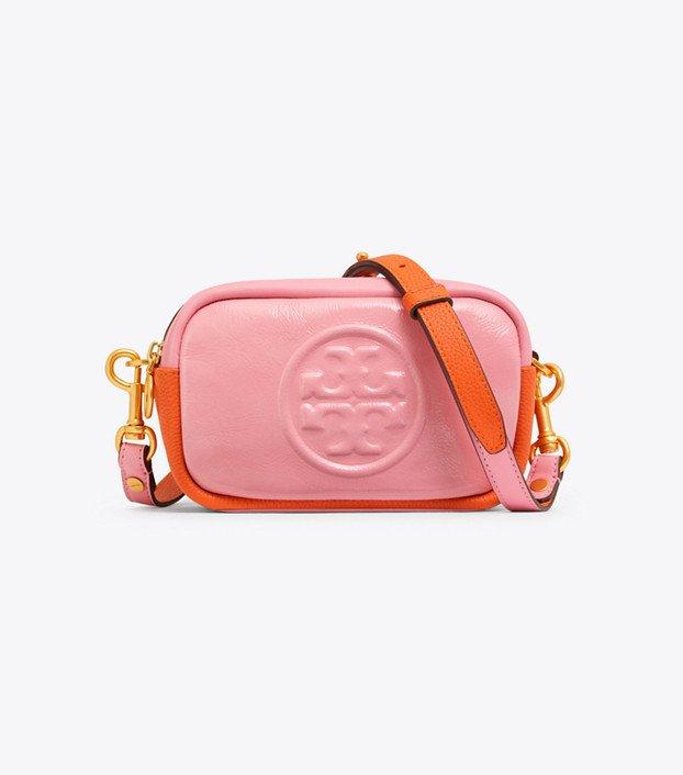 Tory Burch Perry Bombé Color-block Mini Bag: Women's Handbags
