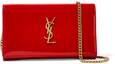 Monogramme Kate Small Patent-leather Shoulder Bag - Red