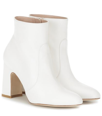 Nell leather ankle boots