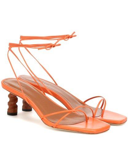 Doris leather sandals