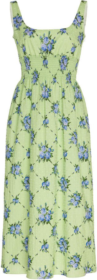 Emilia Wickstead Floral Print Dress Size: 8