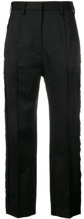 twill suiting trousers