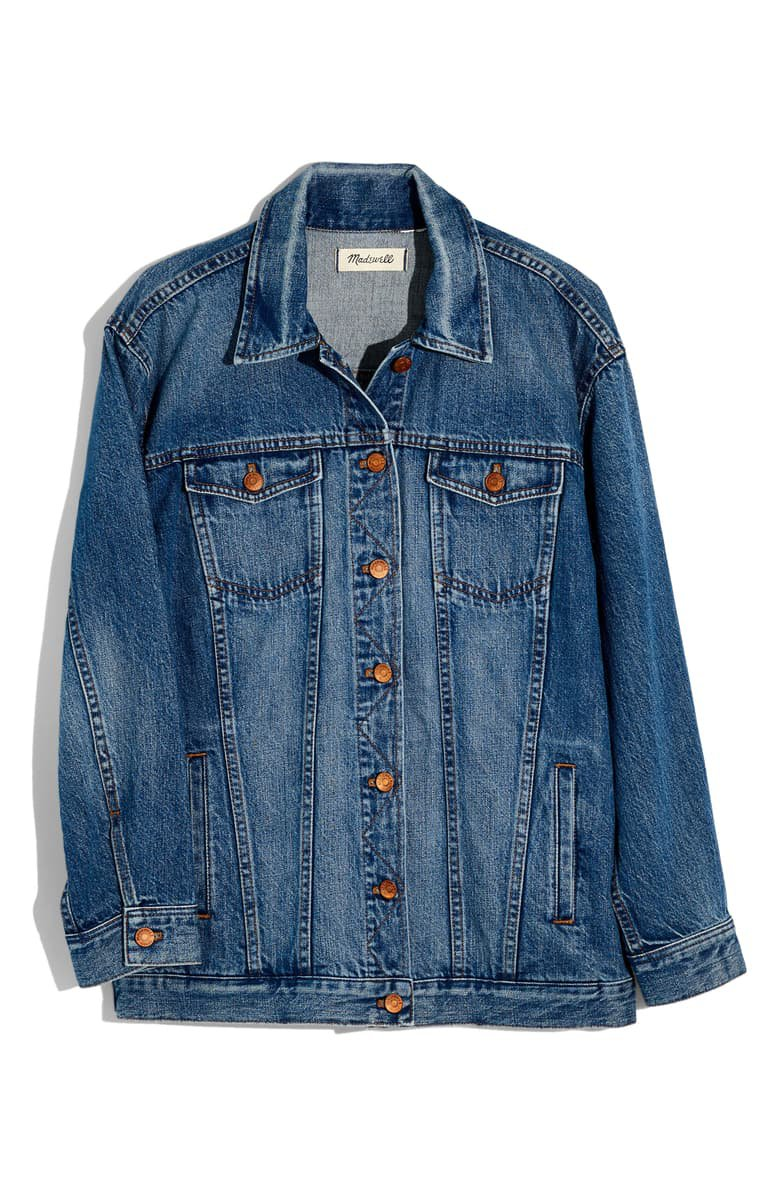 Madewell The Oversize Jean Jacket | Nordstrom