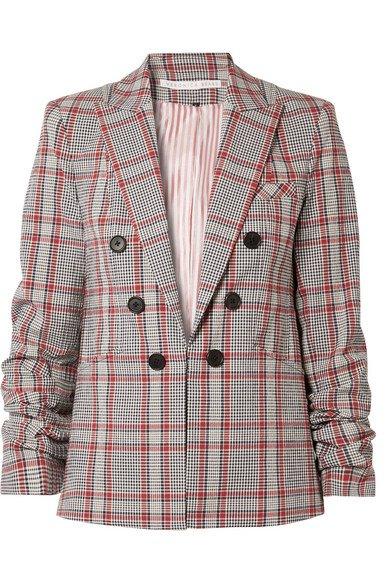 Veronica Beard   Caldwell Dickey checked cotton-blend blazer   NET-A-PORTER.COM