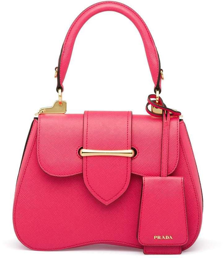 Sidonie Saffiano Leather Bag