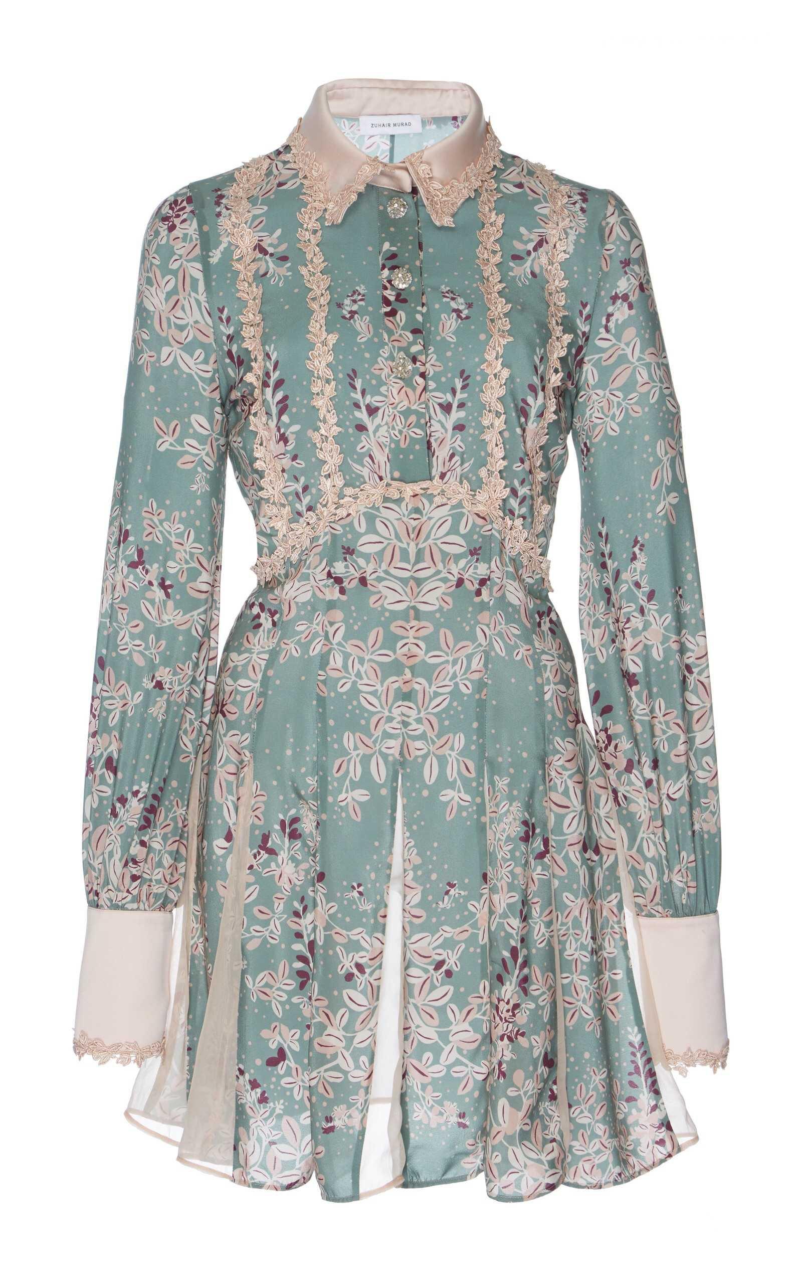 Zuhair Murad Printed Shirt Dress