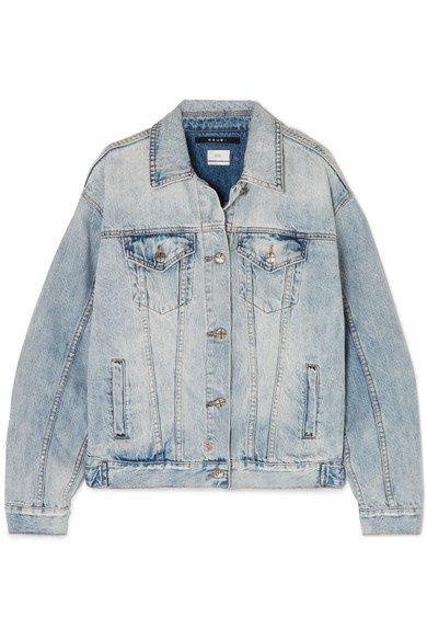 Ksubi   Oversized distressed denim jacket   NET-A-PORTER.COM