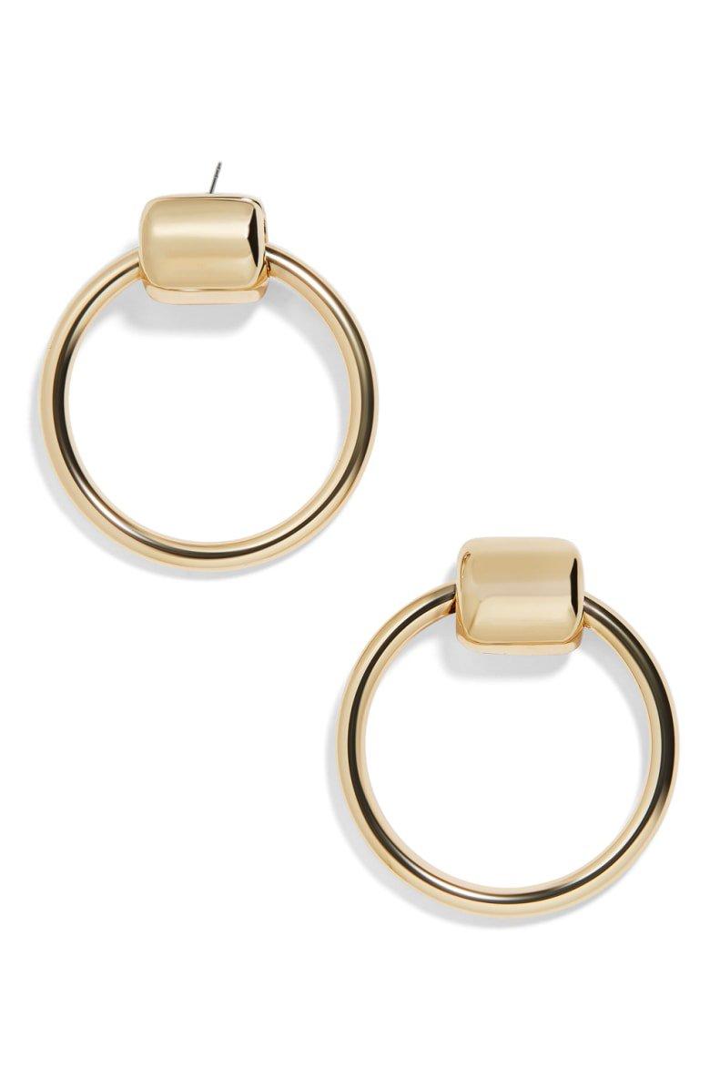 BaubleBar Rayne Hoop Earrings | Nordstrom