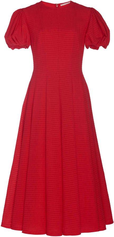 Doreen Faille Midi Dress