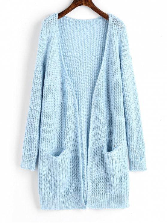 Light blue cardigan