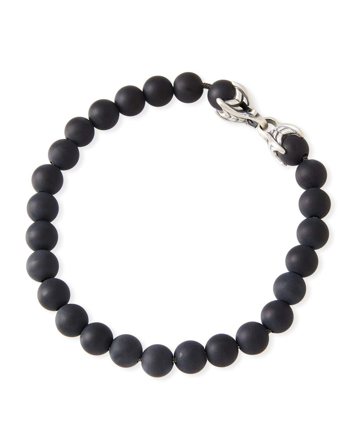 David Yurman Black Onyx Spiritual Beads Bracelet
