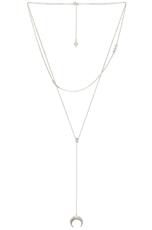 Crescent Diamante Necklace