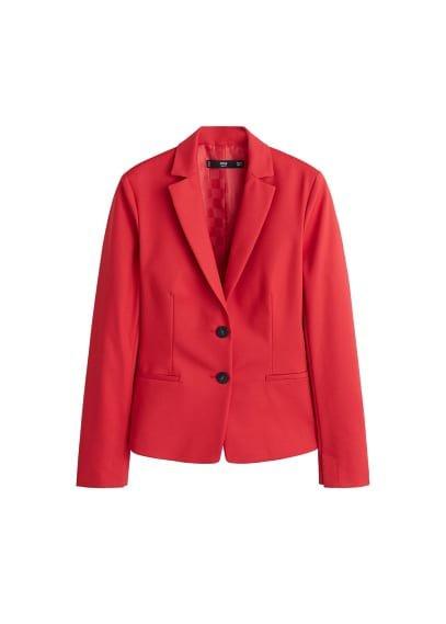 MANGO Essential structured blazer