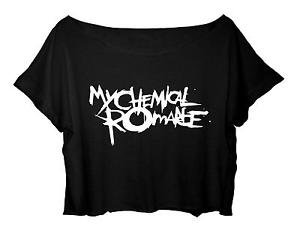 my chemical romance crop top - Google Search