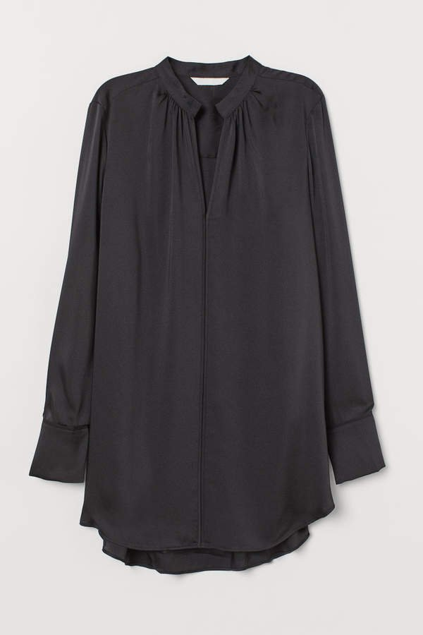 Long Blouse - Black