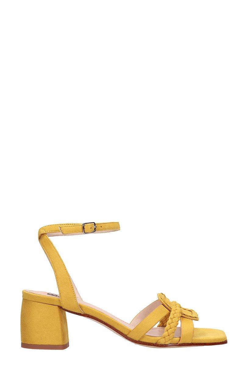 Bibi Lou Yellow Suede Sandals