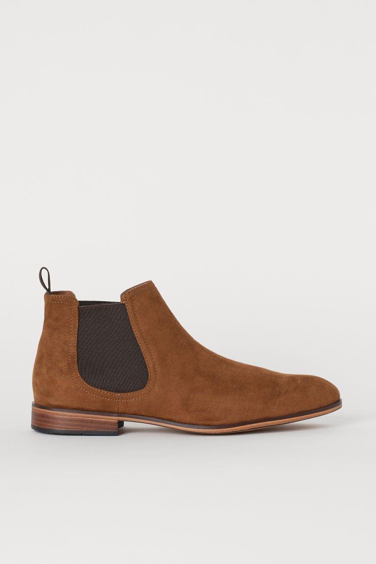 Chelsea-style Boots - Light brown - Men | H&M US