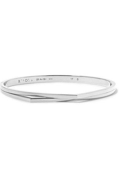Repossi | Antifer 18-karat white gold bracelet | NET-A-PORTER.COM