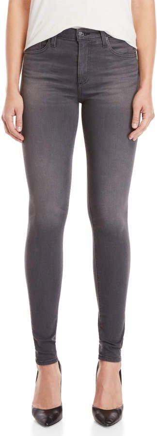 Grey The Farrah Skinny High-Rise Jeans