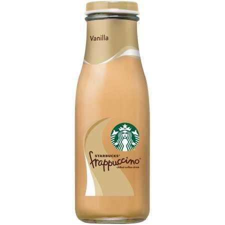 Starbucks Frappuccino Chilled Coffee Drink Vanilla, 13.7 FL OZ - Walmart.com