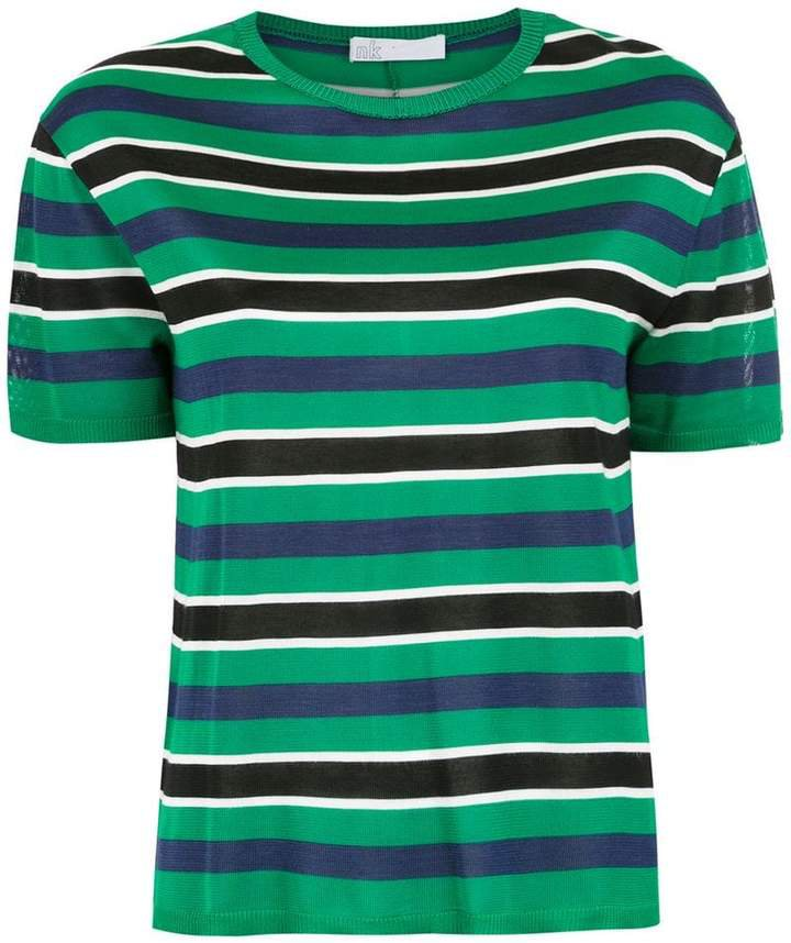 Nk knitted striped top