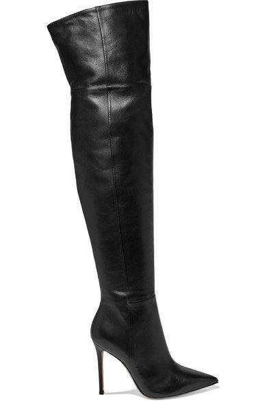 Gianvito Rossi | 105 leather over-the-knee boots
