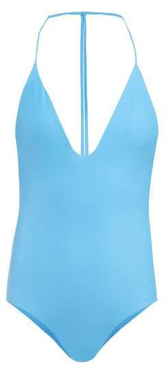 Micro T Back Swimsuit - Womens - Blue