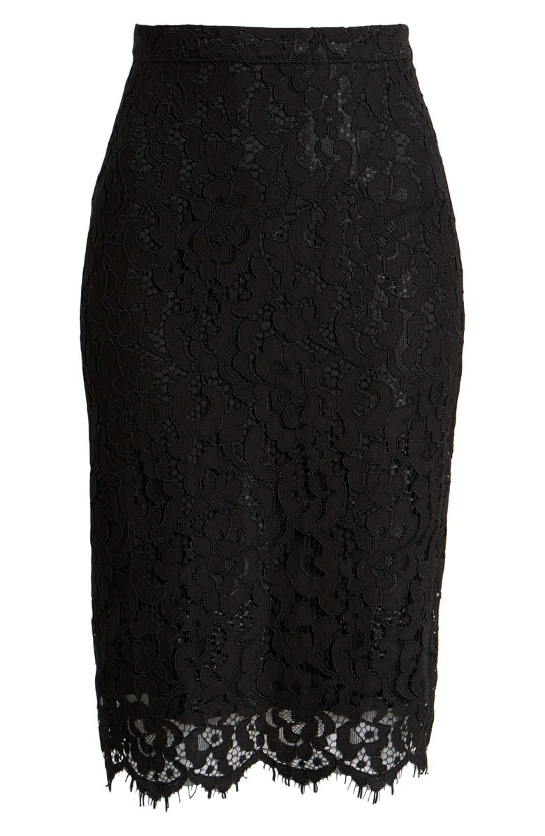Rachel Parcell Lace Pencil Skirt (Nordstrom Exclusive)   Nordstrom