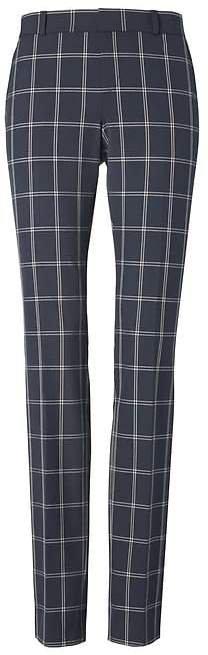 Ryan Slim Straight-Fit Machine-Washable Windowpane Pant