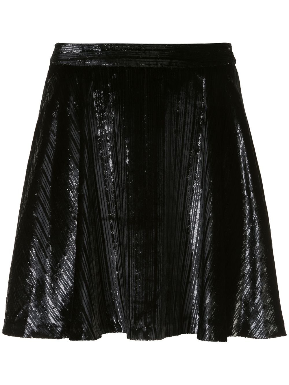 Black Alice+Olivia Blaise Mini Skirt   Farfetch.com