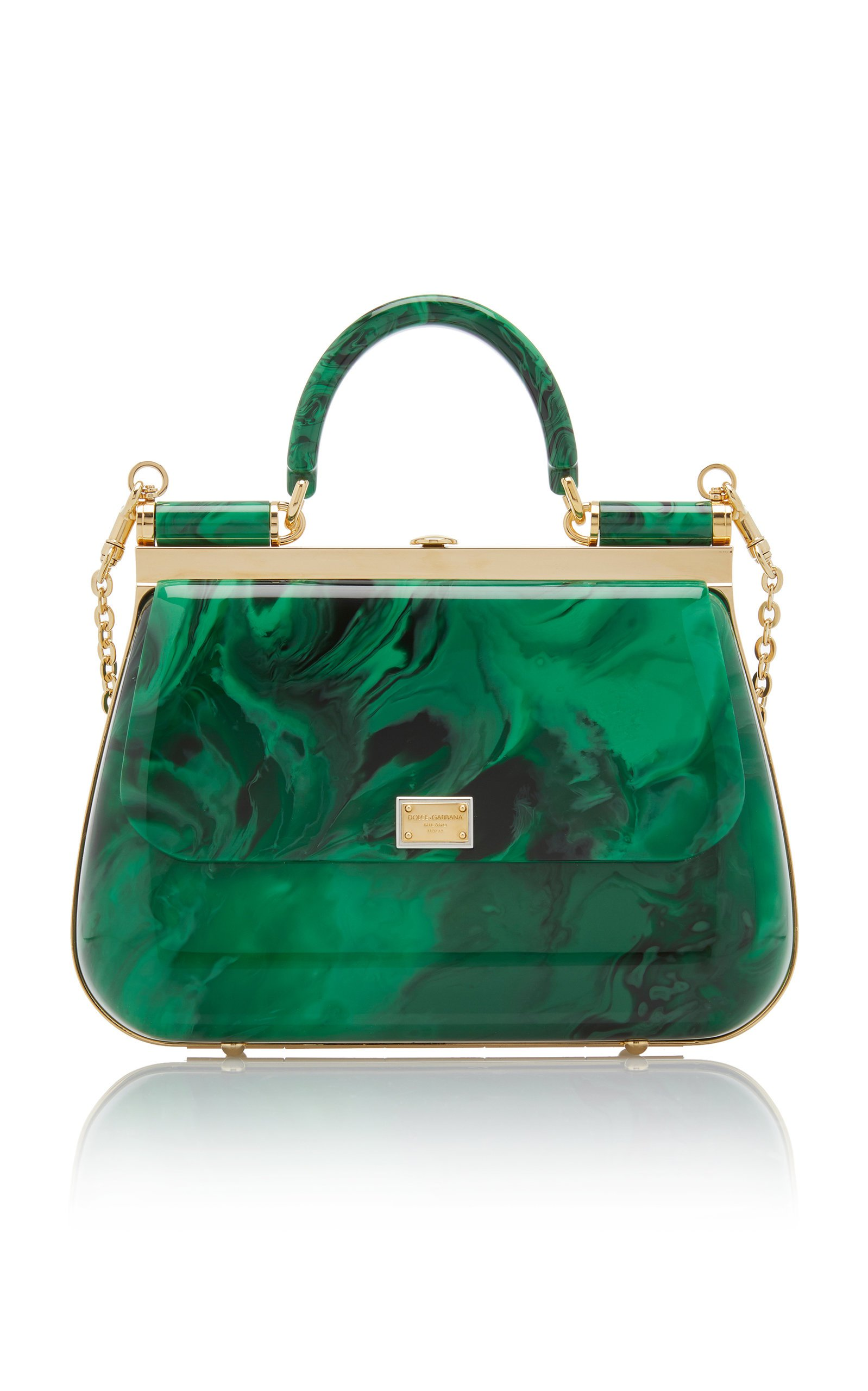 Plexi Top Handle Bag by Dolce & Gabbana | Moda Operandi