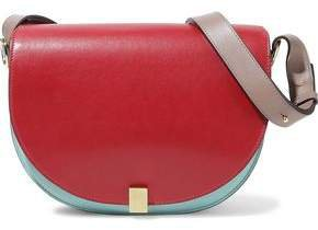 Half Moon Box Leather Shoulder Bag