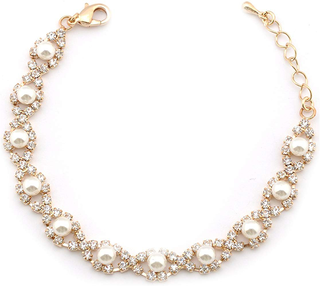 Pearl Bracelet Gold Plating