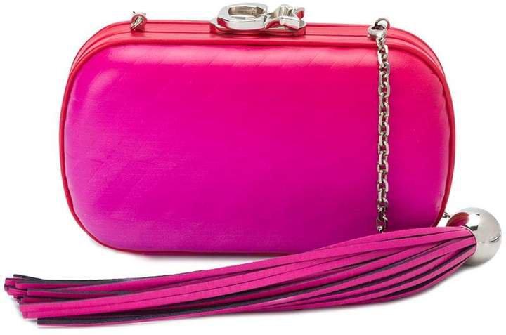 tassle Susan clutch bag