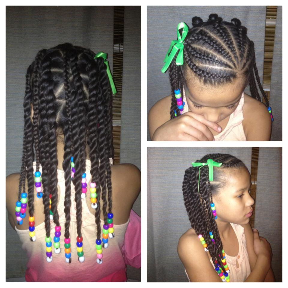 Little Girl Hairstyles African American Also Happy Hair ...