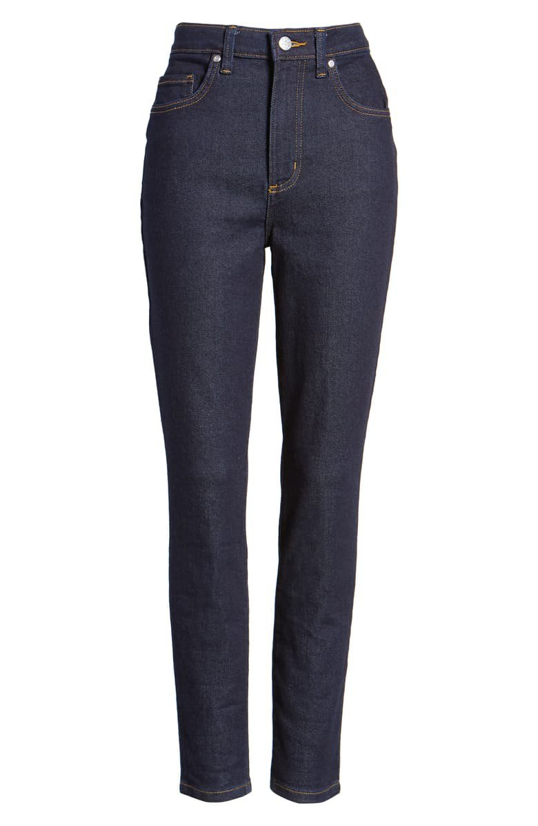 Lee High Waist Skinny Jeans (Retro Rinse) | Nordstrom