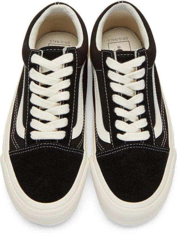 Vans: Black OG Old Skool LX Sneakers | SSENSE