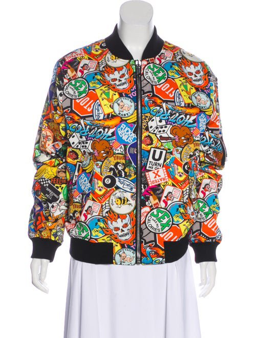 Moschino Couture Long Sleeve Zip-Up Jacket - Clothing - WM922128 | The RealReal