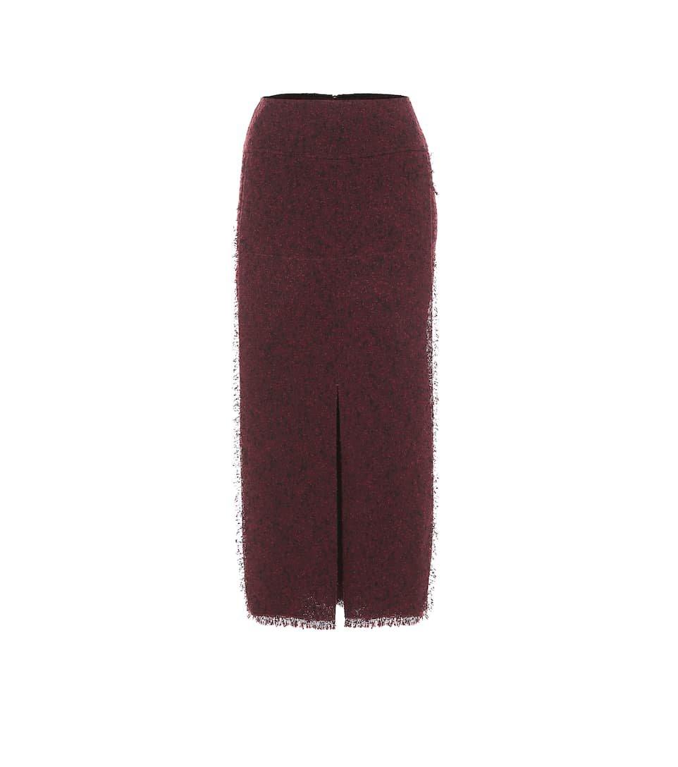 Booth Wool-Blend Pencil Skirt   Roland Mouret - Mytheresa